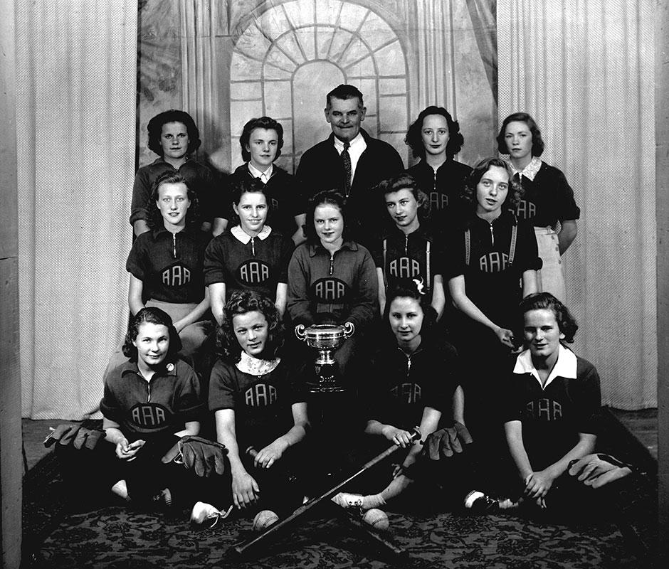 Alberta Avenue Softball Champions 1940 City of Edmonton Archives EA-160-1432