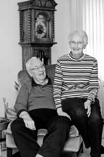 Bill and Anne Hilton