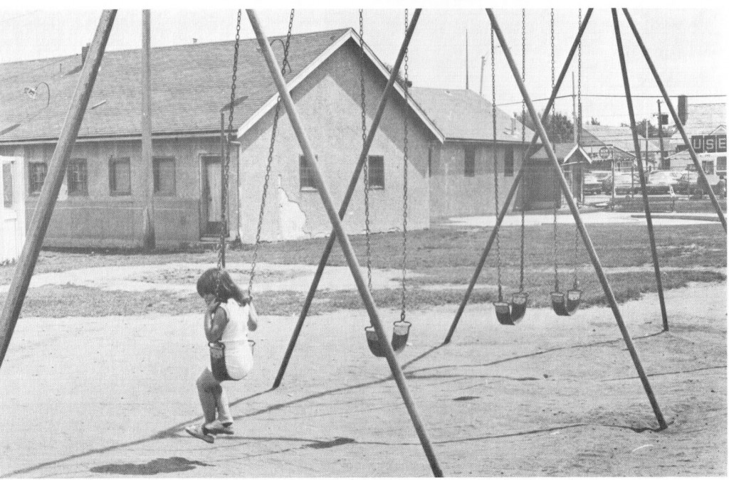 Girl on Swing - Alberta Avenue Community Hall