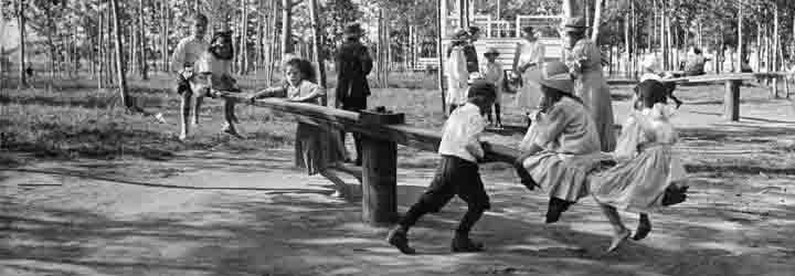 Kids in Playground 1913 City of Edmonton Archives  EA-10-2926-24