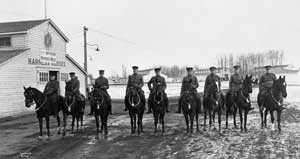 Members of 66th Battalion, Edmonton, Alberta.NC-6-6898