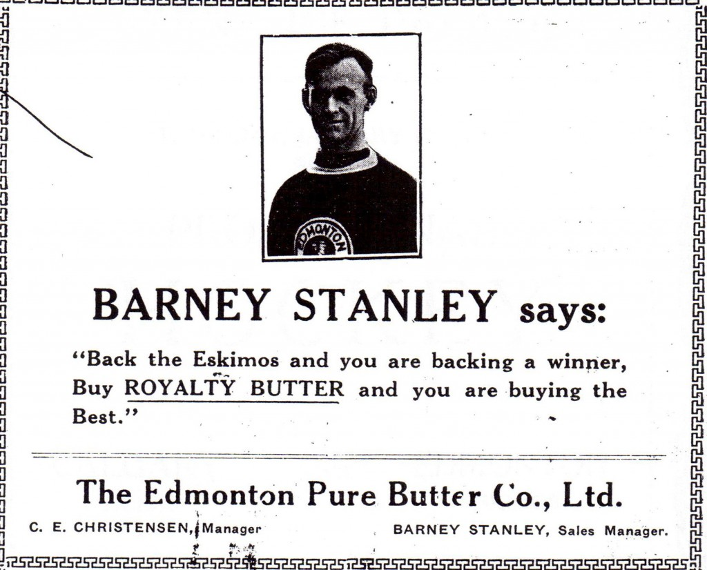12. Barney Stanley Butter and Milk Man