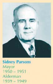 Sidney Parsons, photo: Edmonton Public LIbrary