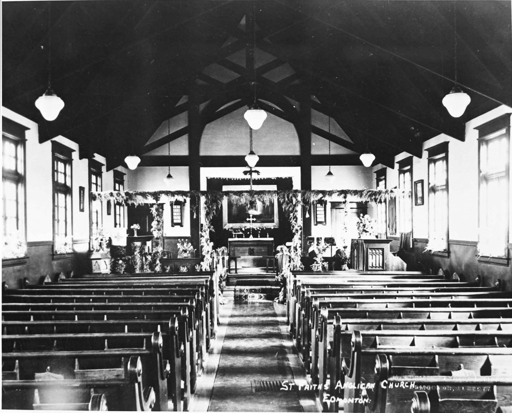 Provincial Archives Alberta Ace4 - St. Faiths Anglican Church